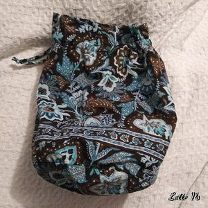 Vera Bradley Drawstring Ditty Bag/Tote